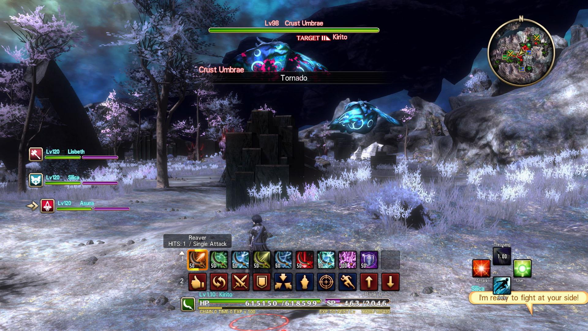Sword Art Online: Hollow Realization Deluxe Edition Screenshot 3