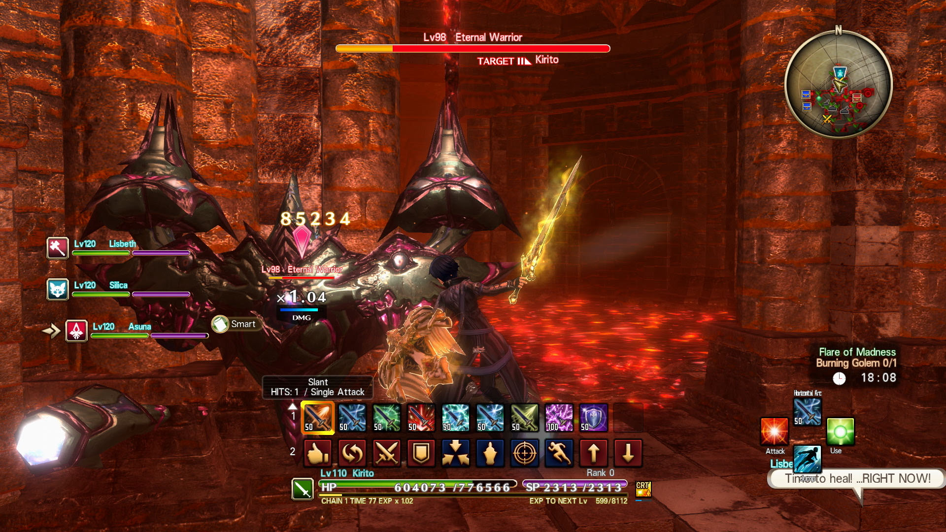 Sword Art Online: Hollow Realization Deluxe Edition Screenshot 2