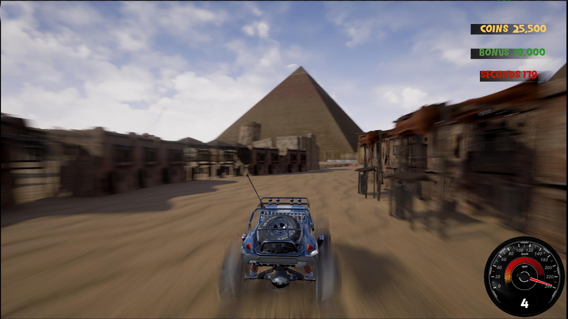 Crazy Buggy Racing Screenshot 2