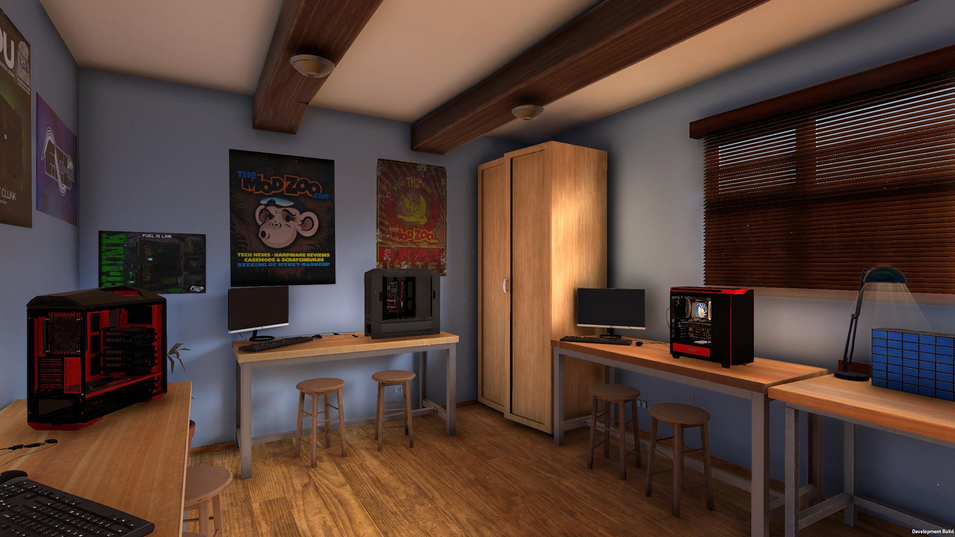 Download PC Building Simulator - V0.8.6.1-ZOTAC - Release 12 July 2018 Torrent