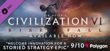 Sid Meiers Civilization VI Rise and Fall [PT-BR] Capa