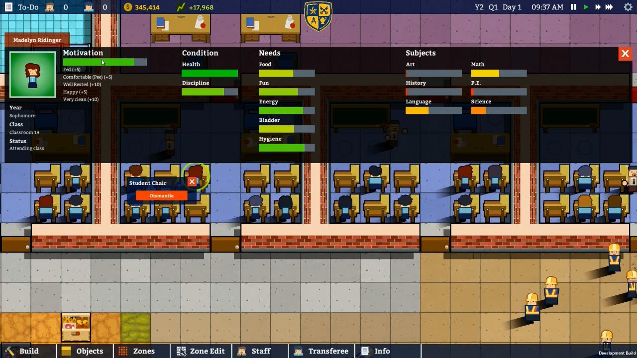 Academia: School Simulator Screenshot 3
