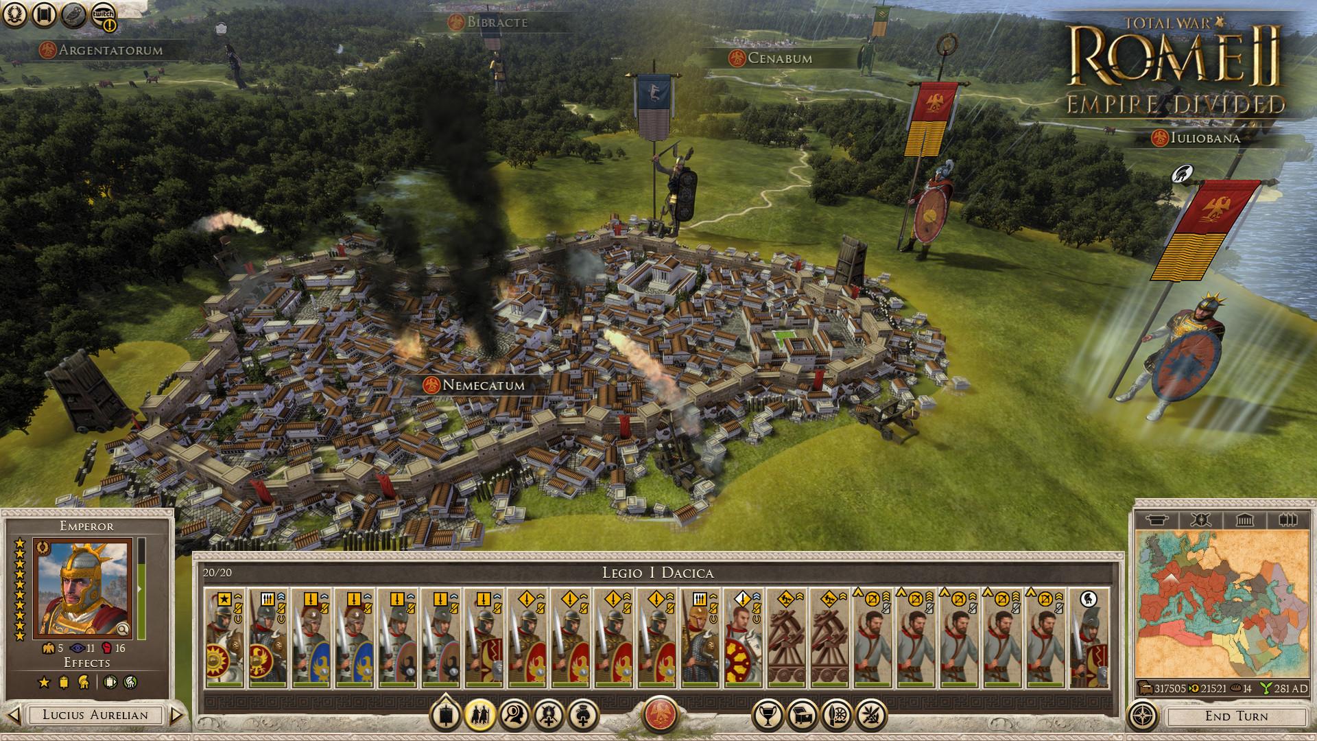 Total War: ROME II - Empire Divided Screenshot 2