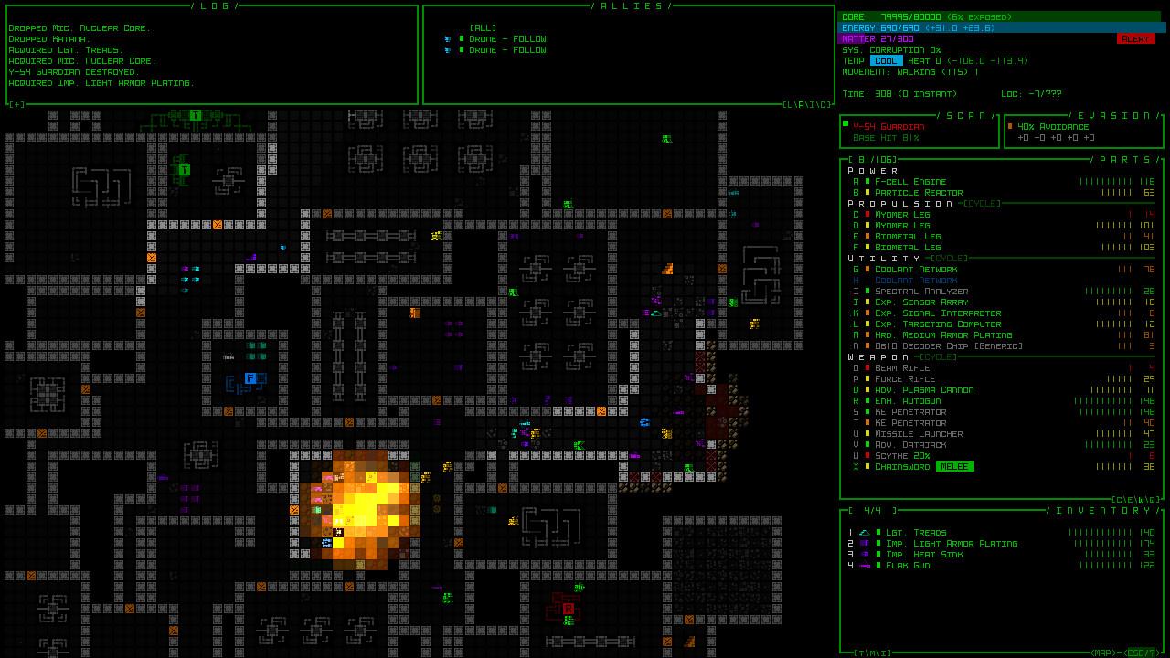 Cogmind Screenshot 2