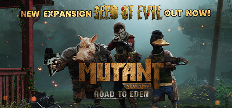 Mutant Year Zero Road to Eden [PT-BR] Capa