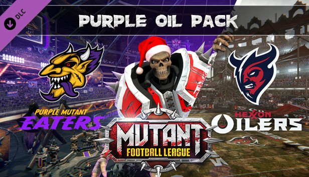 Download Mutant Football League - Purple Oil Pack free download