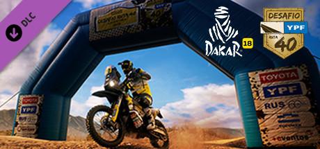 Dakar 18 – Desafio Ruta 40 Rally Capa