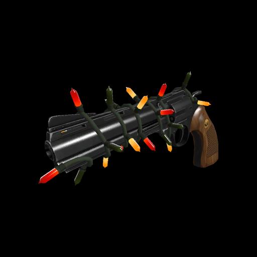 Strange Professional Killstreak Festive Revolver