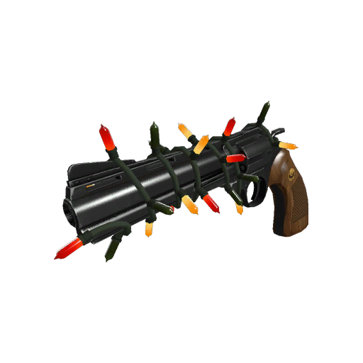 Strange Specialized Killstreak Festive Revolver