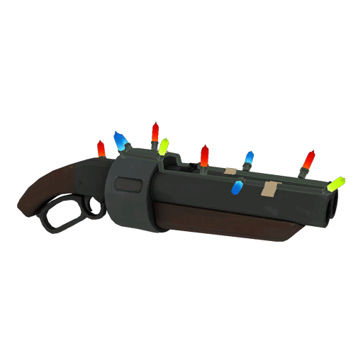 Positively Inhumane Professional Killstreak Festive Scattergun