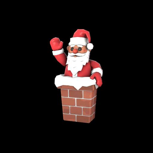 Strange Pocket Santa