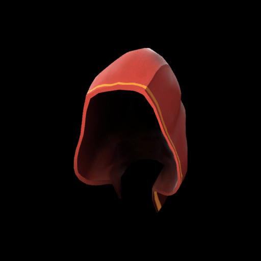 Strange Unusual Pyromancer's Hood