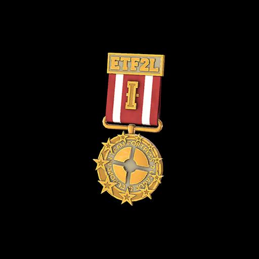 ETF2L 6v6 High Gold Medal