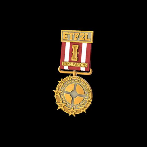 ETF2L Highlander Open Gold Medal