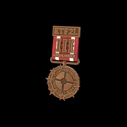 ETF2L Highlander Low Bronze Medal
