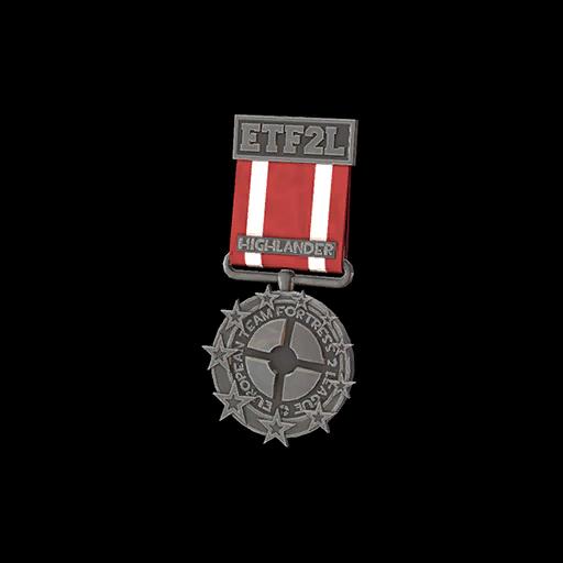 ETF2L Highlander Low Participation Medal