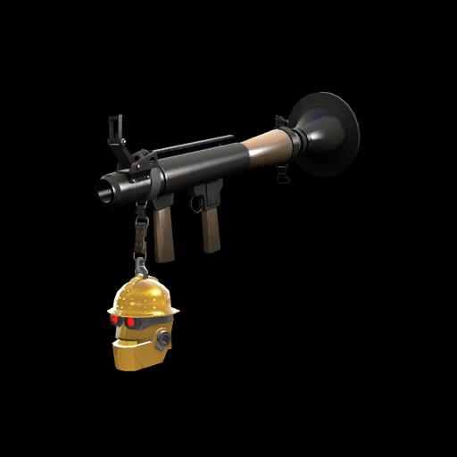 Strange Killstreak Gold Botkiller Rocket Launcher Mk.II
