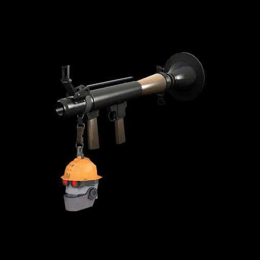 Strange Professional Killstreak Silver Botkiller Rocket Launcher Mk.II
