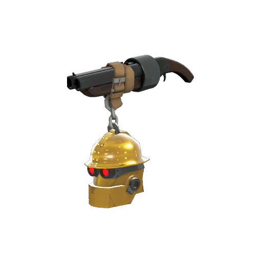 Strange Professional Killstreak Gold Botkiller Scattergun Mk.II