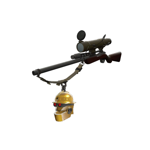 Strange Killstreak Gold Botkiller Sniper Rifle Mk.II