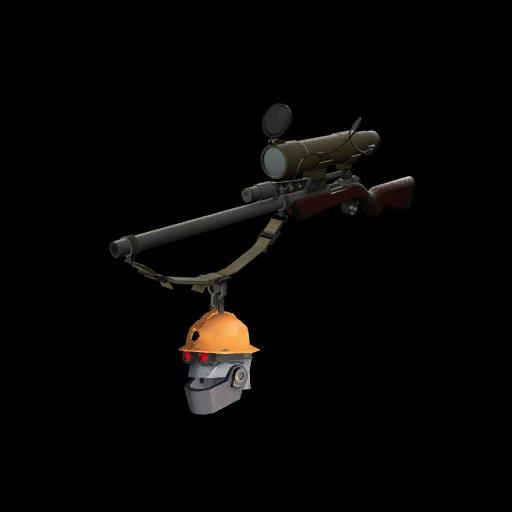 Strange Professional Killstreak Silver Botkiller Sniper Rifle Mk.II