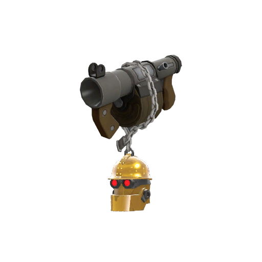 Strange Specialized Killstreak Gold Botkiller Stickybomb Launcher Mk.II