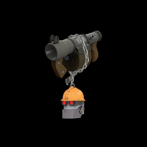 Strange Silver Botkiller Stickybomb Launcher Mk.II