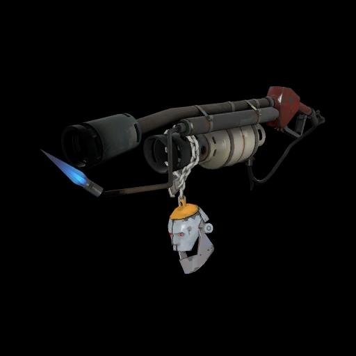 Strange Specialized Killstreak Silver Botkiller Flame Thrower Mk.I