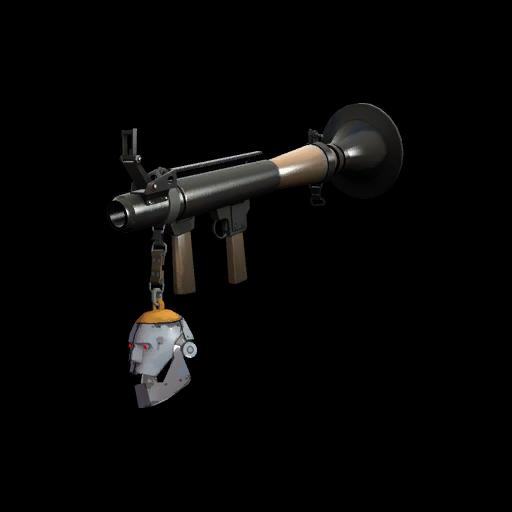 Strange Professional Killstreak Silver Botkiller Rocket Launcher Mk.I