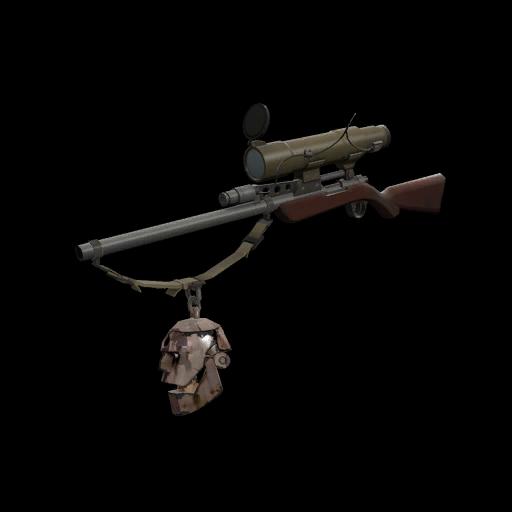 Positively Inhumane Rust Botkiller Sniper Rifle Mk.I