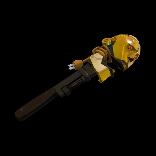 Strange Killstreak Gold Botkiller Wrench Mk.I