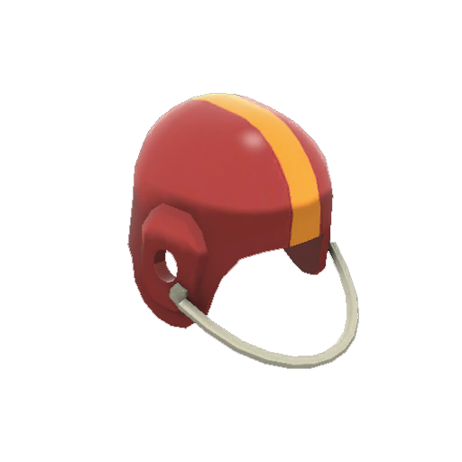 Unusual Football Helmet