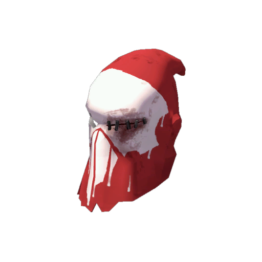 Haunted Headtaker's Hood