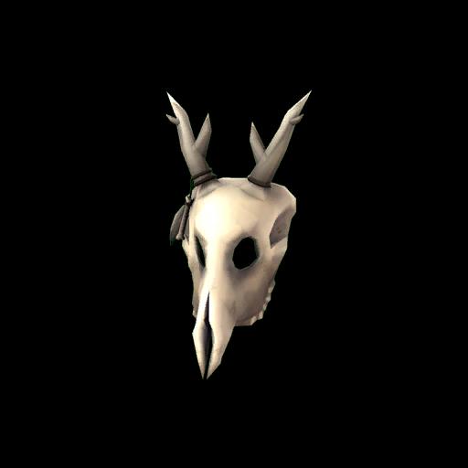 Haunted Shaman's Skull