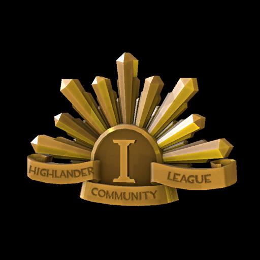 AU Highlander Community League First Place