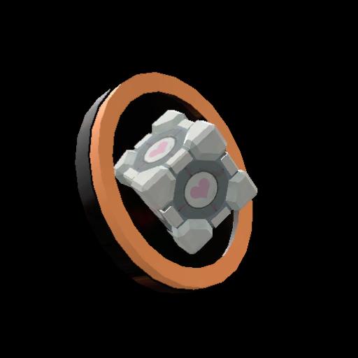 Companion Cube Pin