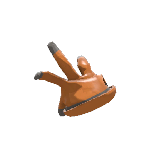 Respectless Rubber Glove