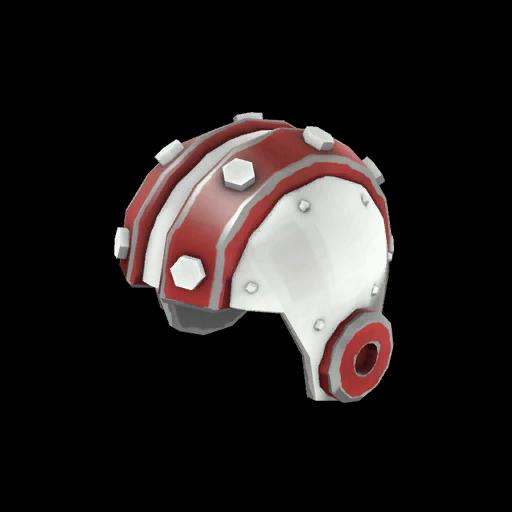 Unusual Cyborg Stunt Helmet