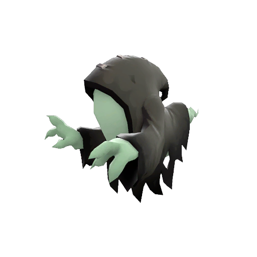 Strange Haunted Hooded Haunter