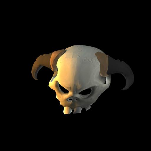 Spine-Cooling Skull