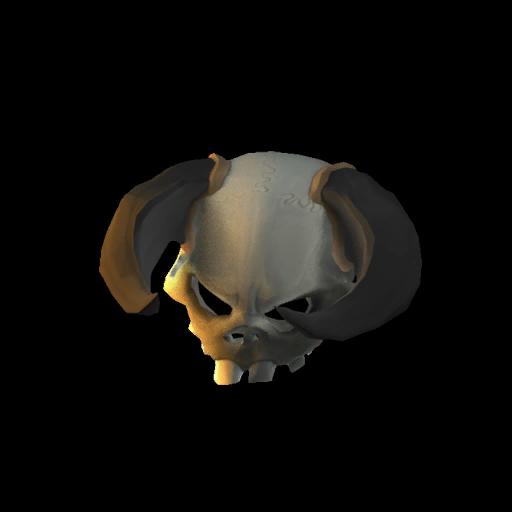 Spine-Twisting Skull