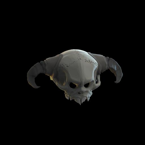 Spine-Chilling Skull