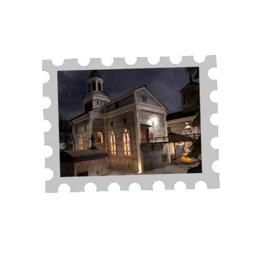 Map Stamp - Graveyard