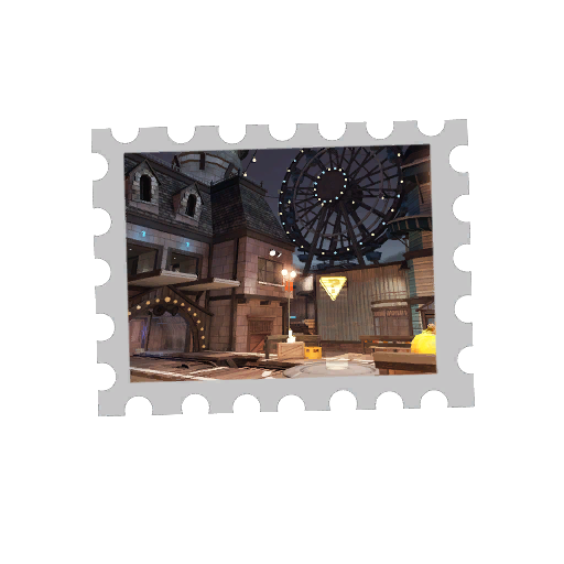 Map Stamp - Laughter
