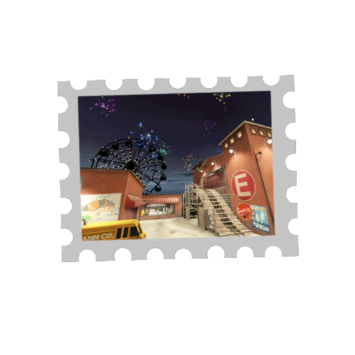 Map Stamp - Pier