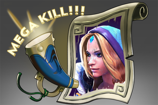 Icon for Mega-Kills: Crystal Maiden
