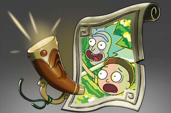 Icon for Announcer: Rick and Morty