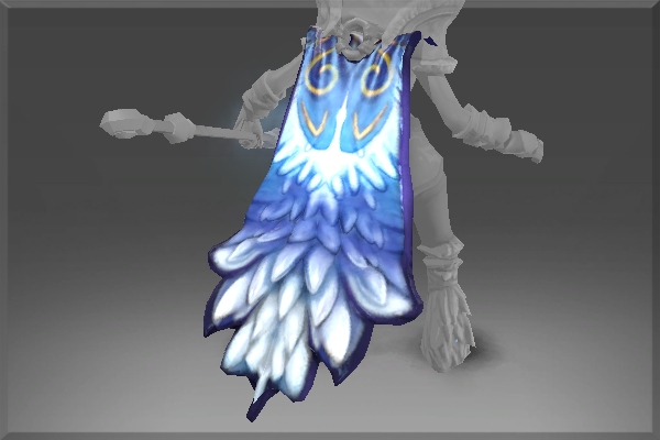 Frozen feathers cape large.02b138607139fb9ceec43fc9836550de9afd320f