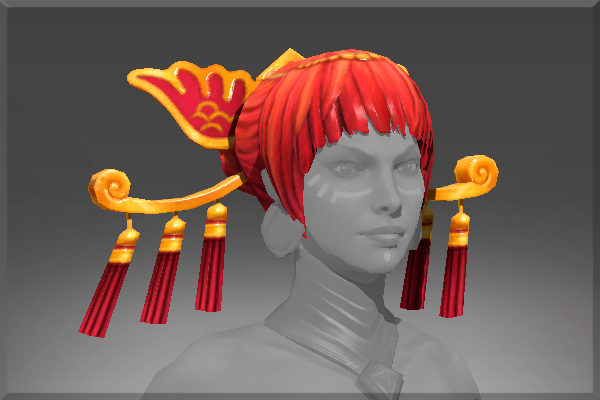 Icon for Headdress of the Ember Crane