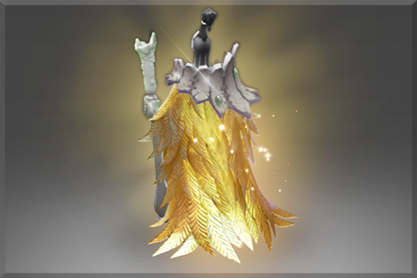 Icon for Golden Ornithomancer Mantle